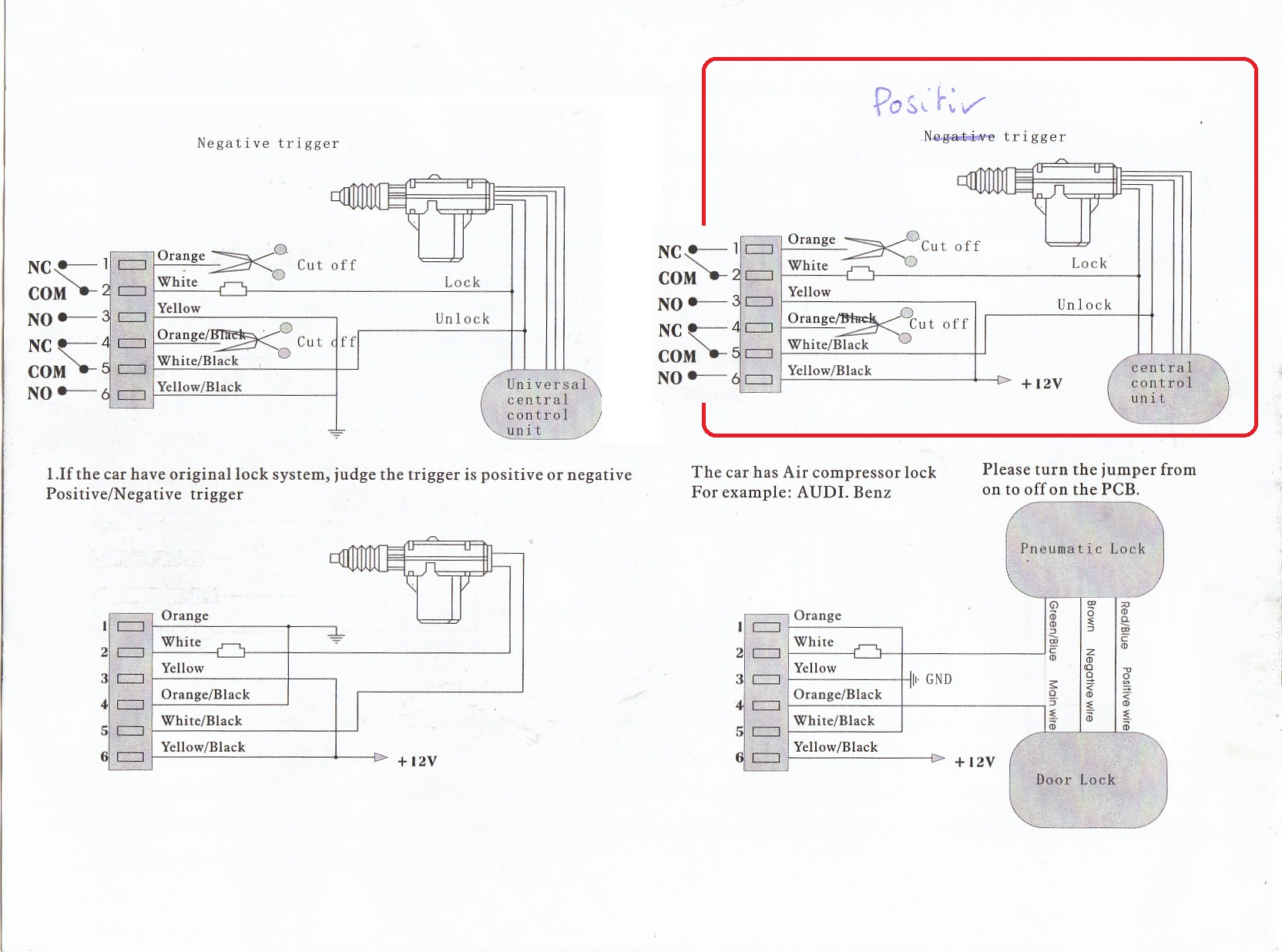 Keyless Entry On Early 928 Rennlist Porsche Discussion Forums 944 Fuse Box Dia However I Could Not Detect The Correct Wiring Even With Added Scheme